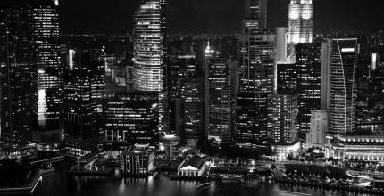 Черно-белые фотообои: стиль и оригинальность